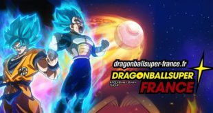 Ouverture d'une nouvelle page FACEBOOK Dragon Ball Super - France