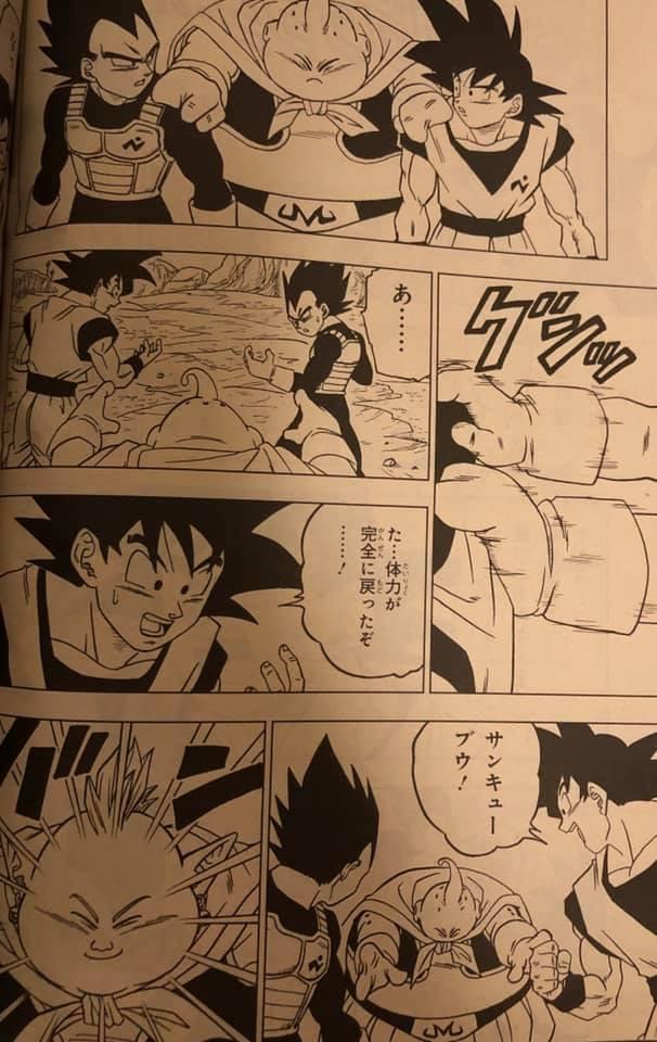 Dragon Ball Super Chapitre 48 : Première images