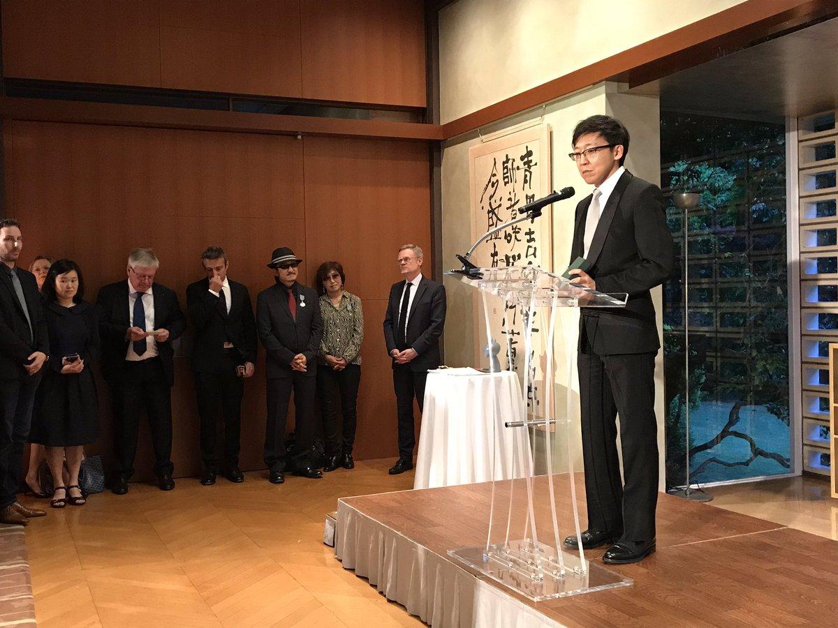 Akira Toriyama reçoit la médaille de Chevalier de l'Ordre des Arts et des Lettres