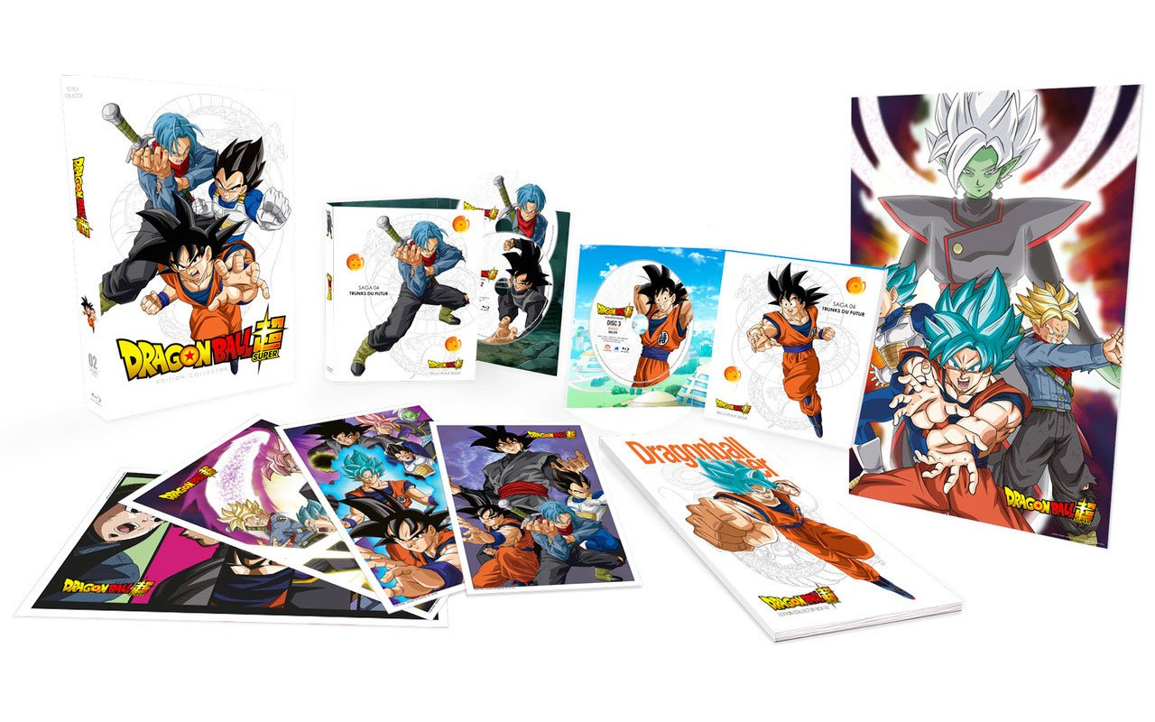 Collector Dragon Ball Super DVD Blu-ray partie 2