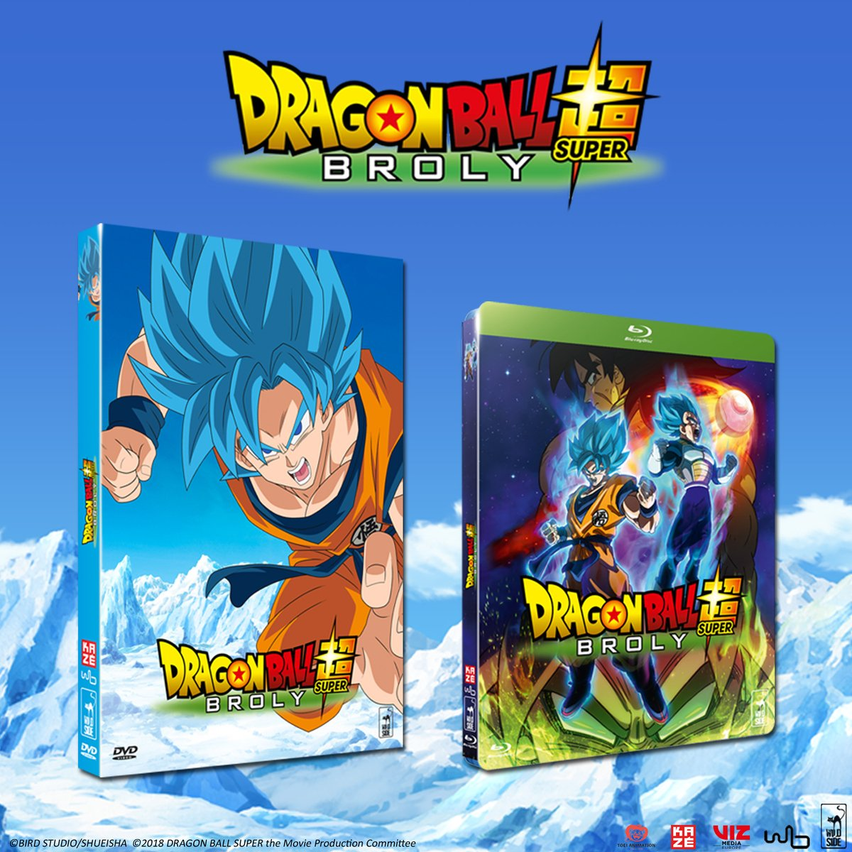 Dragon Ball Super BROLY arrive en France le 17 juillet 2019 en DVD, Blu-ray et VOD