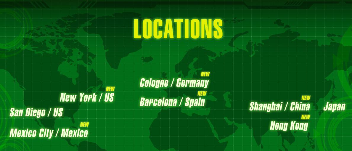 Les 8 pays du Dragon Ball World Adventure dévoilés