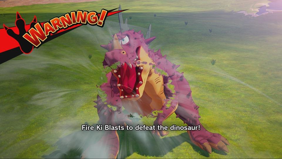 Dragon Ball Z Kakarot : Les dinosaures au rendez-vous