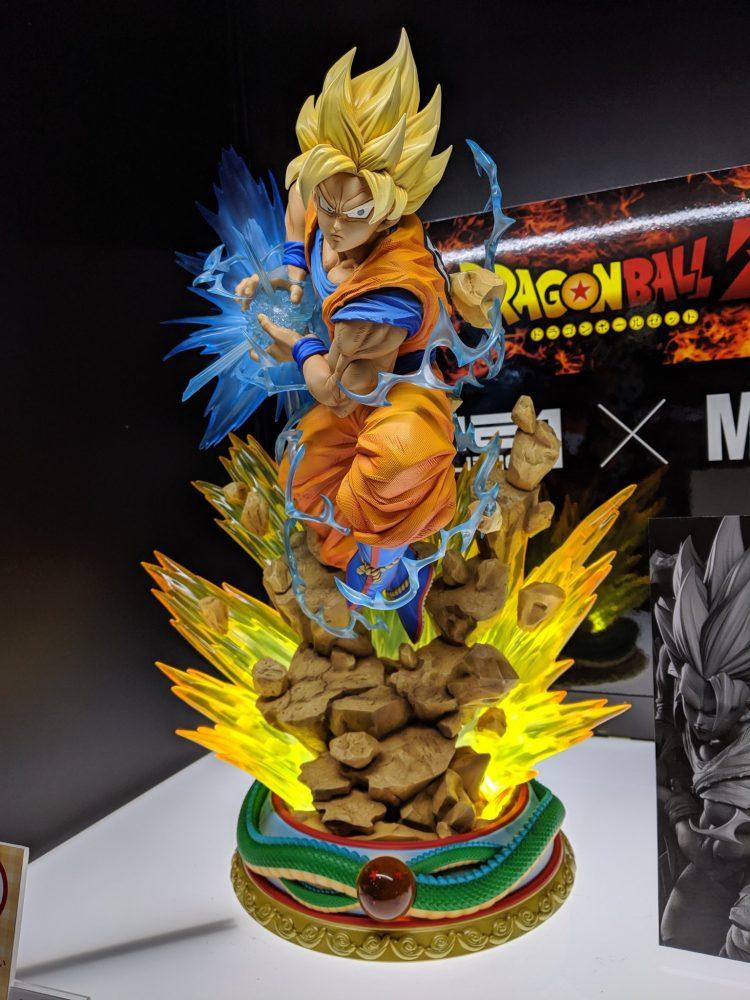 Résine de Goku par Prime 1 Studio et MegaHouse