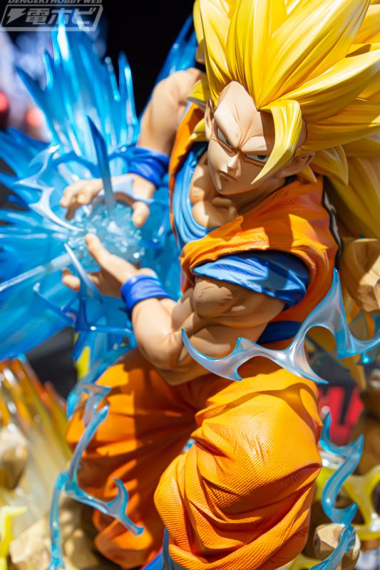 Résine de Goku par Prime 1 Studio et MegaHouse : La version SSJ3 se dévoile
