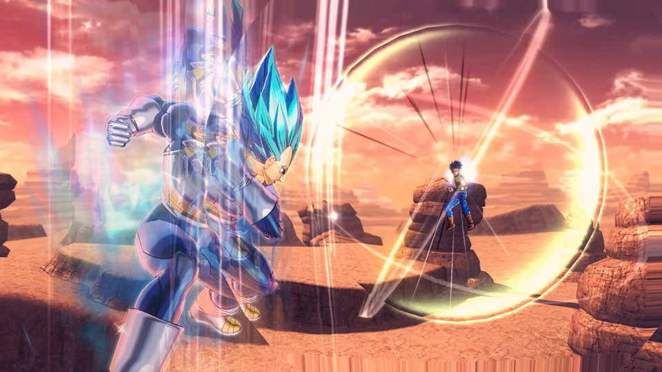 Dragon Ball Xenoverse 2 : Nouvelles images de Vegeta SSGSS Evolution