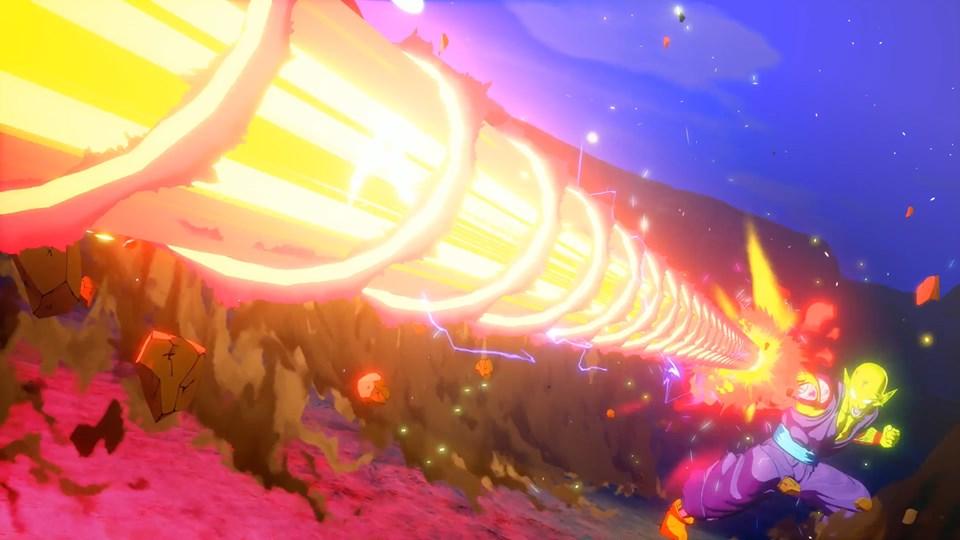 Dragon Ball Z Kakarot : Quelques images tirées de scènes cinématiques