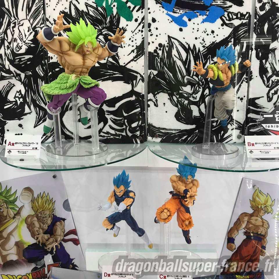 Les figurines Dragon Ball du Jump Victory Carnival 2019