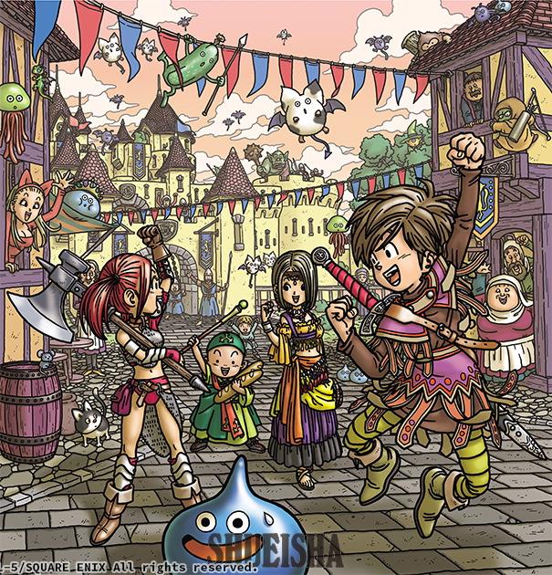 Presque toutes les œuvres d'Akira Toriyama – Semaine du 8 au 14 juillet 2019 - Dragon Quest IX