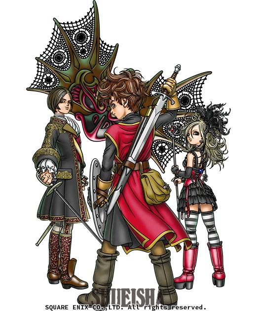Presque toutes les œuvres d'Akira Toriyama – Semaine du 8 au 14 juillet 2019 - Dragon Quest Swords