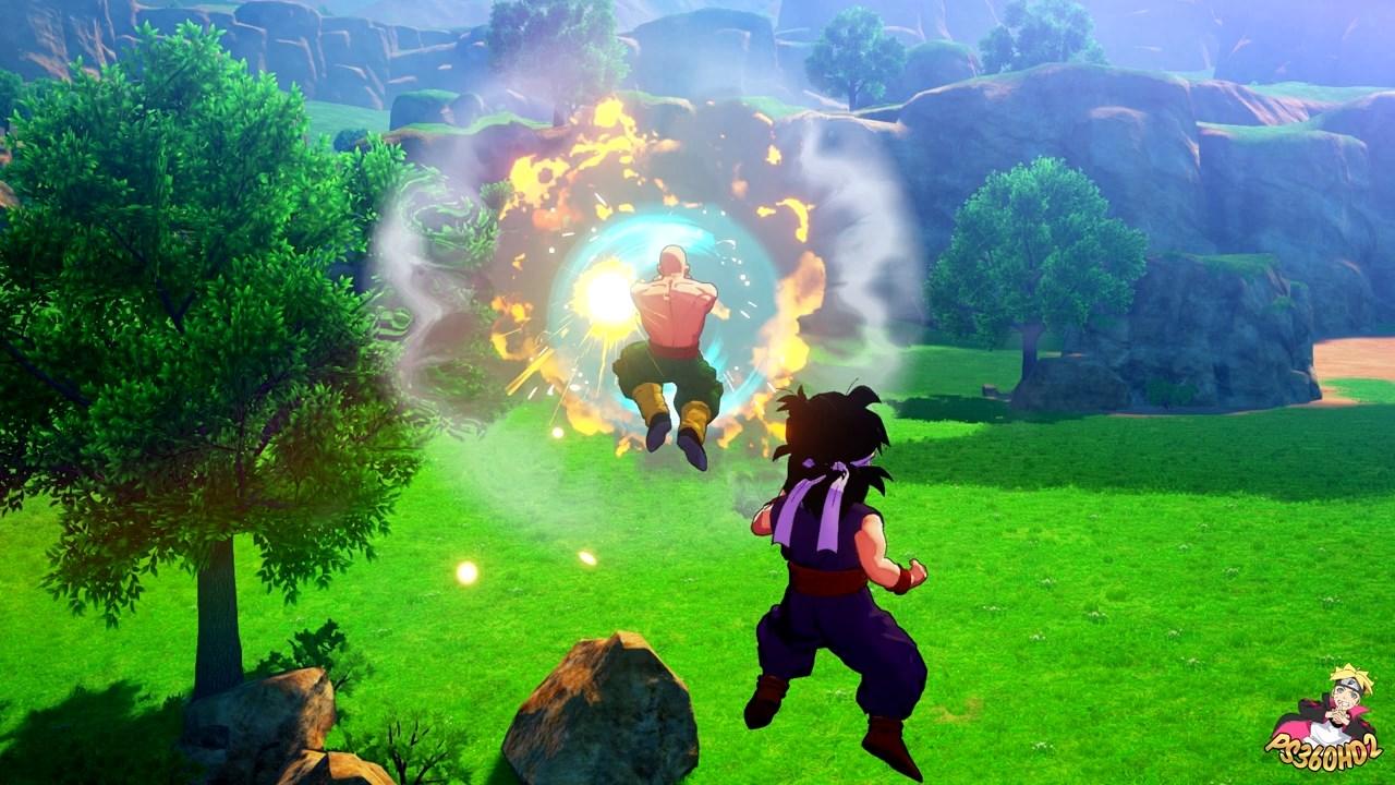 Dragon Ball Z Kakarot : Gohan et TenShinHan