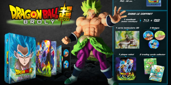 Dragon Ball Super Broly : Le coffret prestige disponible en précommande