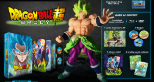 Dragon Ball Super BROLY : Le coffret prestige dévoilé