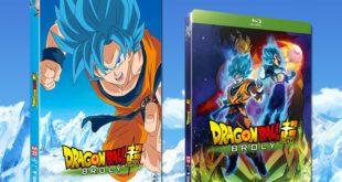 Dragon Ball Super BROLY est disponible en France en DVD et Blu-ray