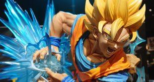 Résine de Goku par Prime 1 Studio et MegaHouse : La version SSJ2 en images