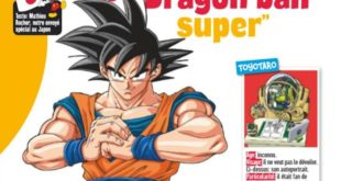 Dragon Ball Super : Interview de Toyotaro dans Le Journal de Mickey