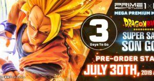 Résine de Goku par Prime 1 Studio et MegaHouse : Début des précommandes le 30 juillet