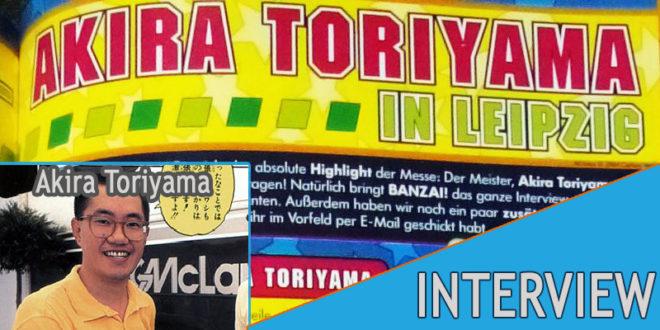 L'interview perdue d'Akira Toriyama à Leipzig en 2004