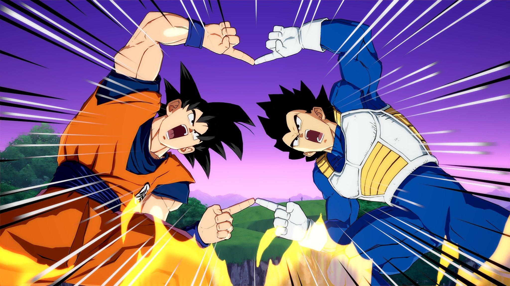 Dragon Ball FighterZ Goku Vegeta fusion