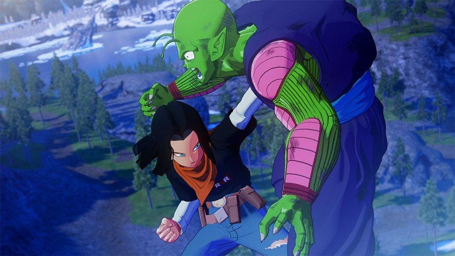 Dragon Ball Z Kakarot C17 VS Piccolo