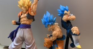 UNBOXING de Gogeta x Dragon Ball Legends et des TAG FIGHTERS Goku et Vegeta