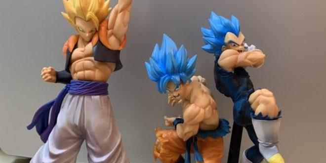 UNBOXING de Gogeta x Dragon Ball Legends et des TAG FIGHTERS Goku et Vegeta