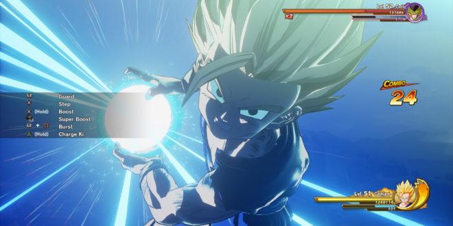 Dragon Ball Z Kakarot : Gameplay de Gohan SSJ2 VS Perfect Cell