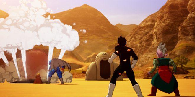 Dragon Ball Z Kakarot : Nouvelles images de Majin Buu