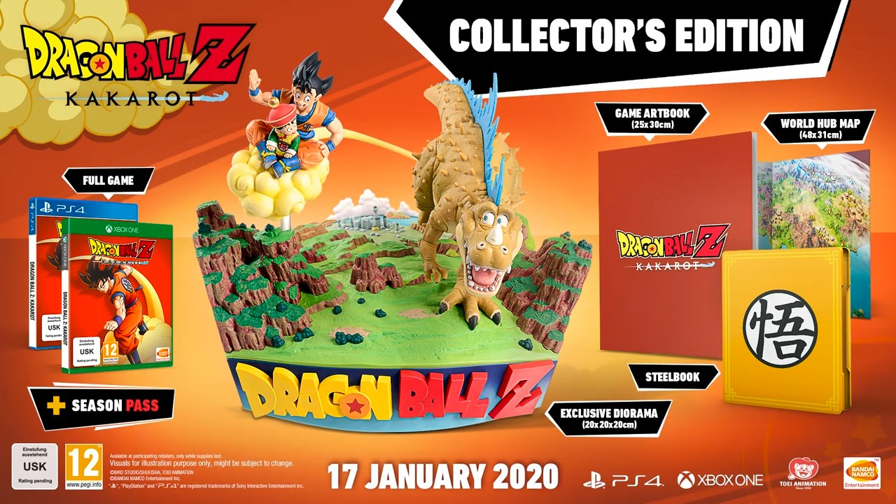 Dragon Ball Z Kakarot édition collector