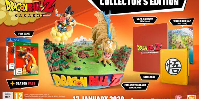 Dragon Ball Z Kakarot : Les précommandes du collector sont ouvertes