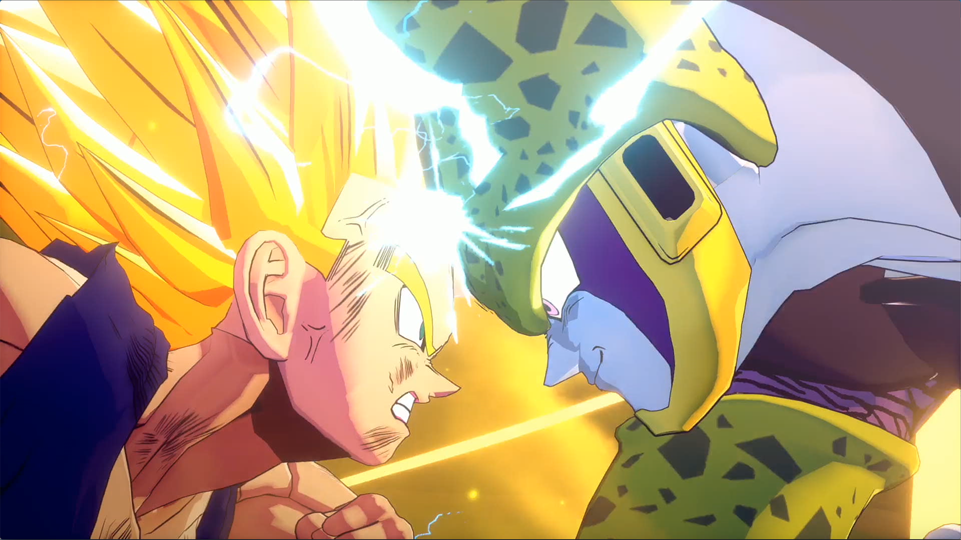 Dragon Ball Z Kakarot : Gohan SSJ2 contre Cell