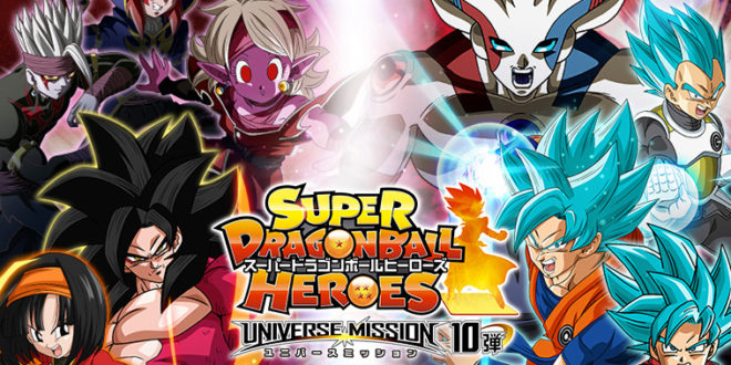 Super Dragon Ball Heroes : Lancement de la Universe Mission 10