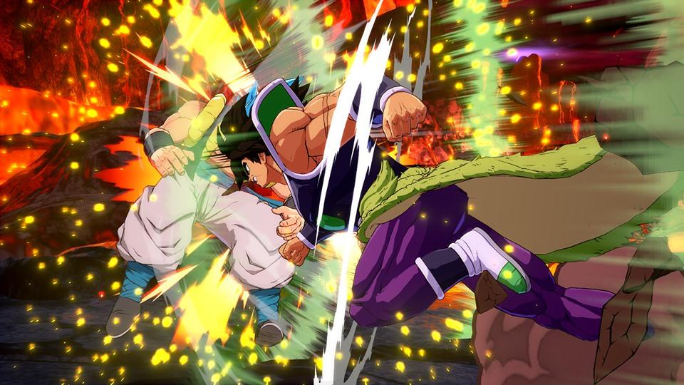 Dragon Ball FighterZ : Nouvelles images de Broly (DBS)