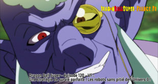 Dragon Ball Super Épisode 120 : Diffusion française