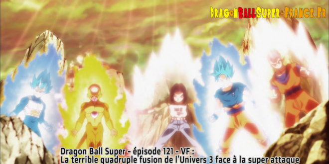 Dragon Ball Super Épisode 121 : Diffusion française