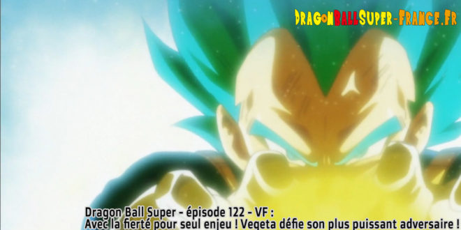 Dragon Ball Super Épisode 122 : Diffusion française