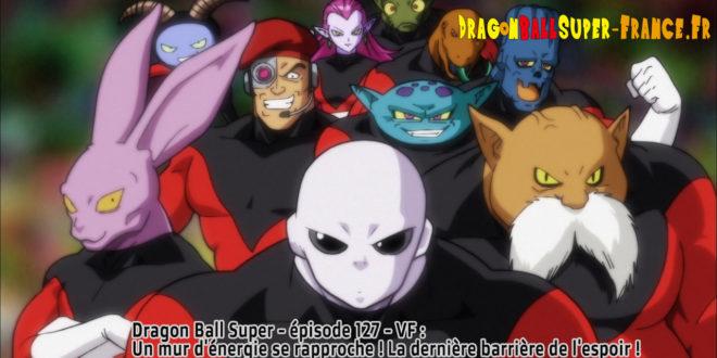 Dragon Ball Super Épisode 127 : Diffusion française