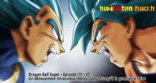Dragon Ball Super Épisode 131 : Diffusion française