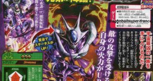 Dragon Ball Legends : Cooler et Freezer (DBS) transformables annoncés