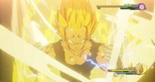 Dragon Ball Z Kakarot : Nouvelles vidéos de Gameplay de Majin Vegeta