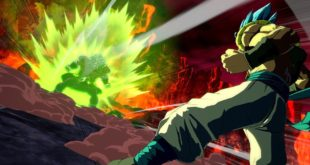 Dragon Ball FighterZ : Images HD du Dramatic Finish de Gogeta et Broly (DBS)