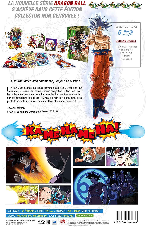 Dragon Ball Super : Le coffret collector de l'intégrale partie 3 en DVD et Blu-ray dévoilé