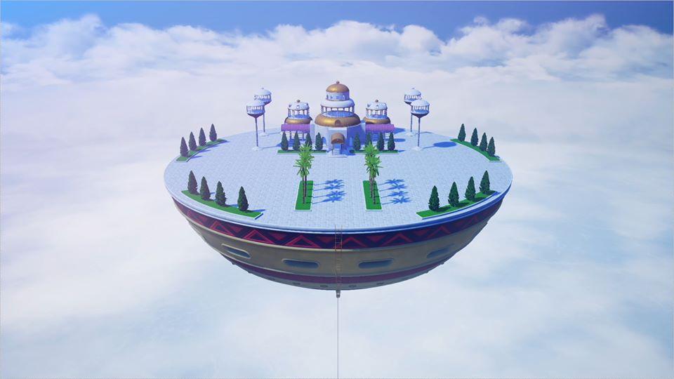 Dragon Ball Z Kakarot : Palais de Dieu