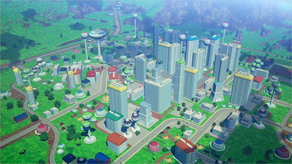 Dragon Ball Z Kakarot : Orange City