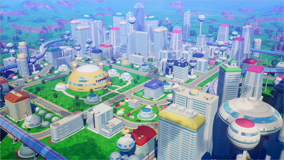 Dragon Ball Z Kakarot : Capitale de l'Ouest