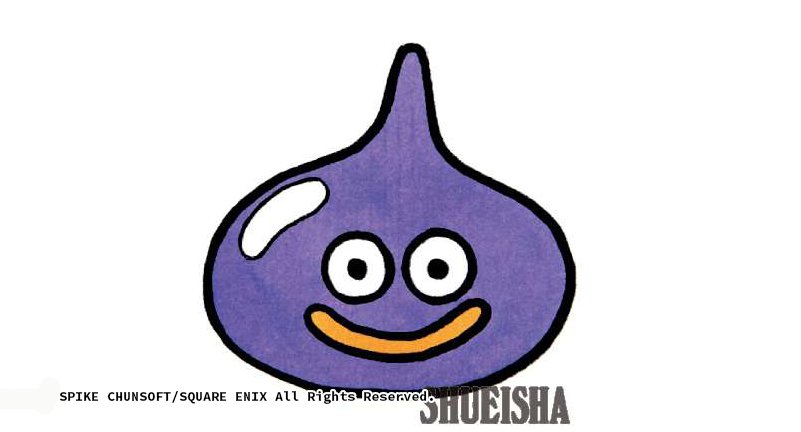 Dragon Quest Slime Gluant