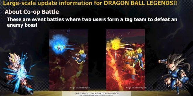 Dragon Ball Legends : Coopération et système de guilde annoncés
