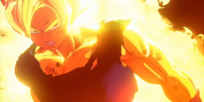 Dragon Ball Z Kakarot : La première transformation de Goku en Super Saiyan en vidéo