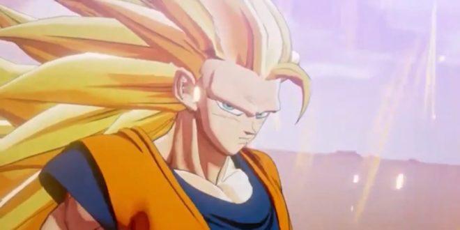 Dragon Ball Z Kakarot : La transformation de Goku en SSJ3 en vidéo