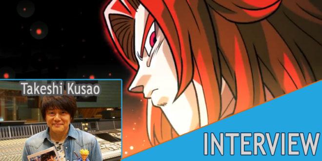 Interview de Takeshi KUSAO - La voix de Trunks pour les 9 ans de Super Dragon Ball Heroes